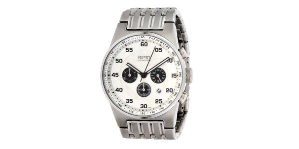 Pánské ocelové hodinky Esprit s tachymetrem