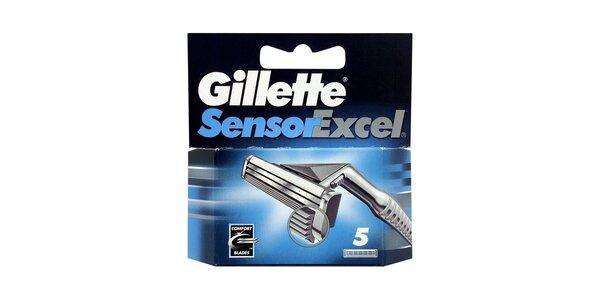 Gillette Sensor Excel náhradní hlavice 5ks