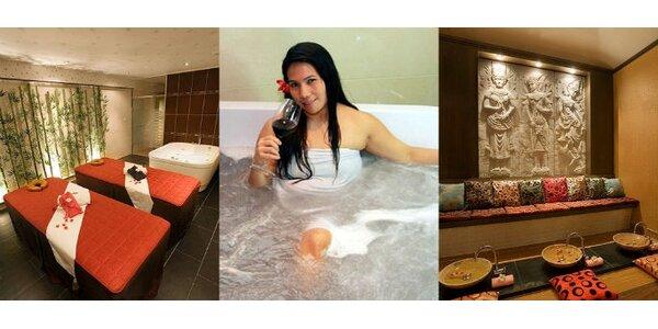 790 Kč za privátní koupel pro DVA s občerstvením v hodnotě 1600 Kč. SLEVA 50%