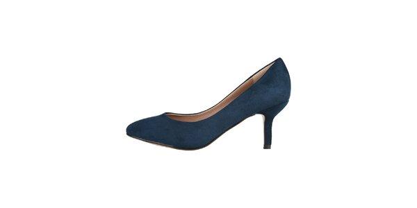 Dámské modré lodičky Ana Lublin s malým podpatkem