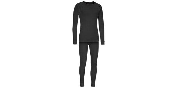 Set pánského funkčního prádla Maier v tmavě šedé barvě