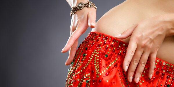 1 až 10 lekcí orientálního tance pro začátečníky