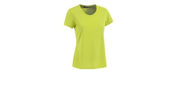 Dámské limetkové tričko s krátkým rukávem Maier