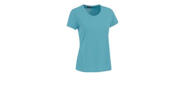 Dámské tyrkysové tričko s krátkým rukávem Maier