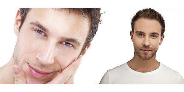 Speciální hodinové kosmetické ošetření pro muže