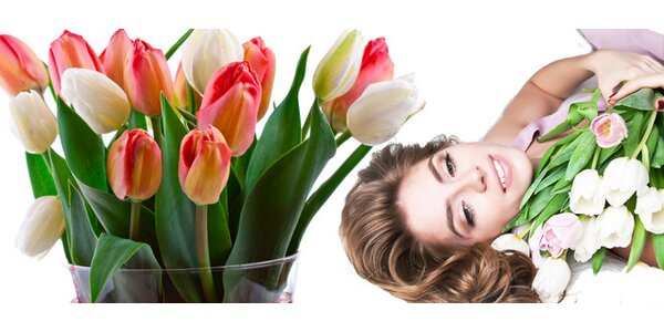 Kytice 15 pravých holandských tulipánů