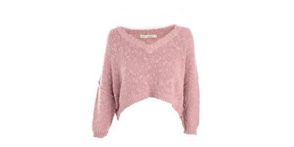 Dámský růžový svetřík Next