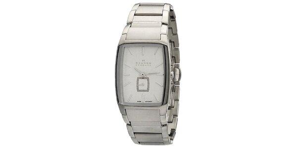Pánské ocelové analogové hodinky Skagen