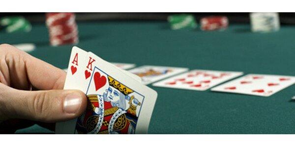 380 Kč za pokerovou školu v luxusním kasinu Ambassador v hodnotě 685 Kč.