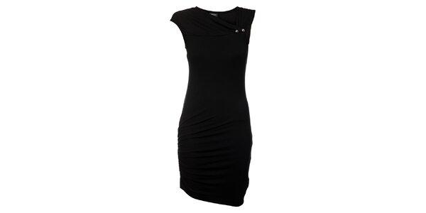 Dámské černé koktejlové šaty Miss Sixty