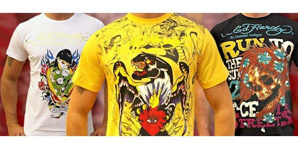 Značkové triko Ed Hardy. Street style pro muže!