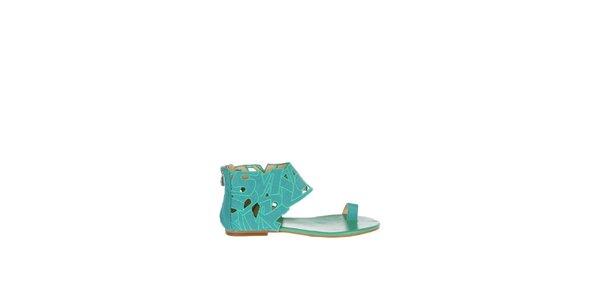 Dámské tyrkysové sandály Miss Sixty