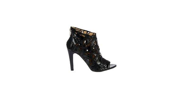Dámské černé sandály Miss Sixty