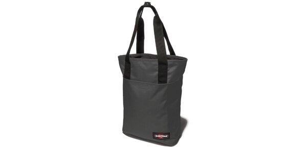 Dámská menší šedočerná taška Eastpak s černými detaily