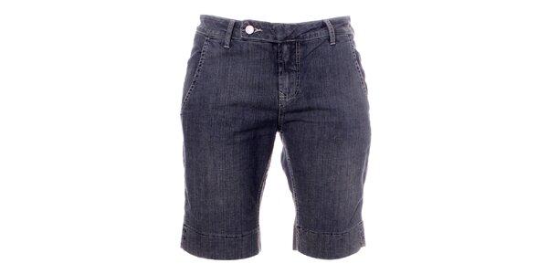 Dámské šedo-modré džínové kraťasy Bleifrei