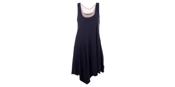 Dámské tmavě modré bavlněné šaty Bleifrei