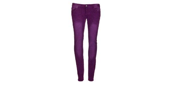 Dámské fialové kalhoty Bleifrei
