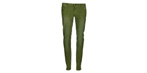 Dámské zelené kalhoty Bleifrei