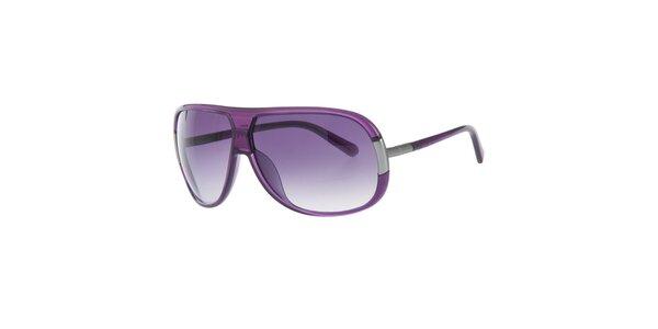 Pánské fialové sluneční brýle Calvin Klein
