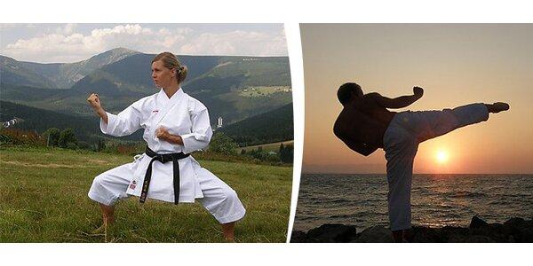 Sebeobrana / karate pro ženy i muže - 8 vstupů
