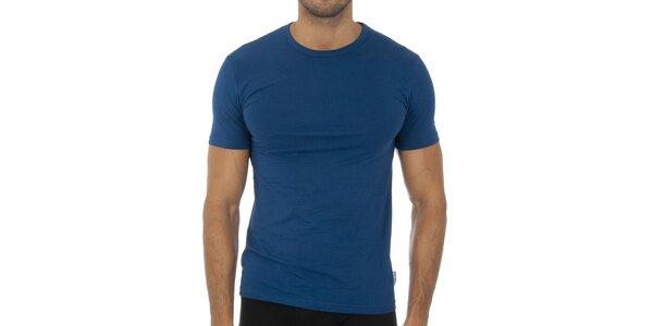 Pánské tmavě modré podvlékací tričko Bikkembergs