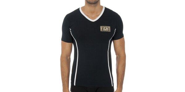 Pánské černé podvlékací tričko Bikkembergs