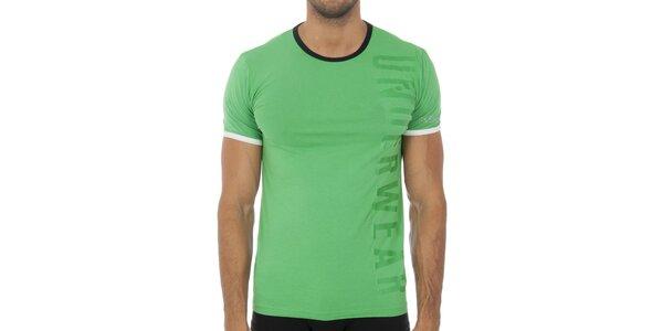 Pánské světle zelené podvlékací tričko Bikkembergs