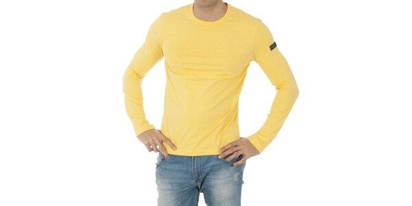 Pánské žluté tričko Bikkembergs