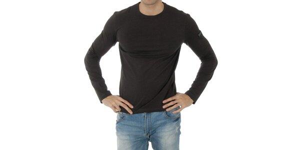 Pánské tmavě šedé tričko Bikkembergs