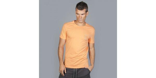 Pánské oranžové tričko Guess by Marciano