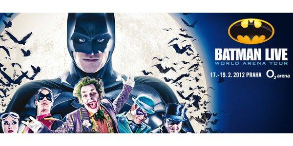 Lístky na úchvatnou show BATMAN LIVE