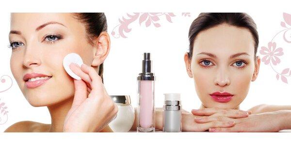 Kosmetická péče o pleť a barvení obočí i řas