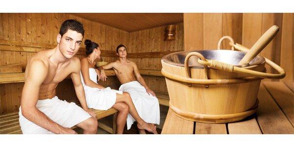 90minutové privátní saunování pro 2-8 osob