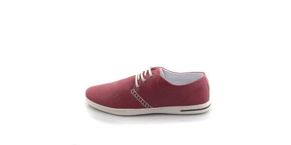 Pánské červené boty Tommy Petersen