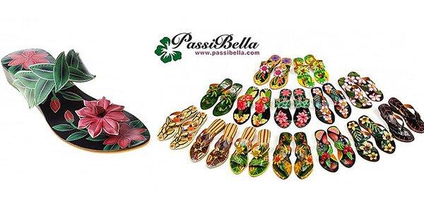 Ručně vyráběné kožené sandále PassiBella z Bali - Poslední kusy!