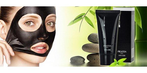 Korejská černá maska Pilaten na obličej - ověřený účinek