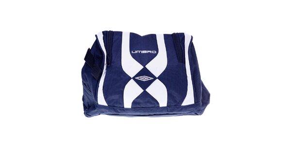 Pánská modro-bílá taška na boty Umbro