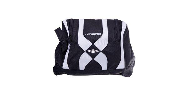 Pánská černo-bílá taška na boty Umbro