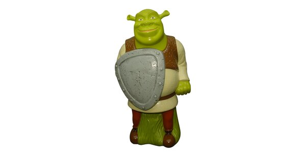 Shrek 3D pěna do koupele 300ml