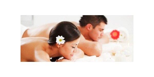 Partnerská masáž - Aroma masáž nebo Havajská Lomi Lomi v délce 60 minut