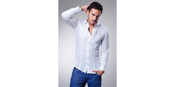 Pánská bledě modrá košile Dolce & Gabbana