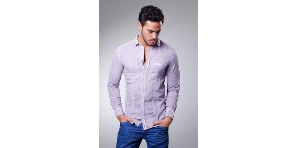 Pánská fialová košile Dolce & Gabbana