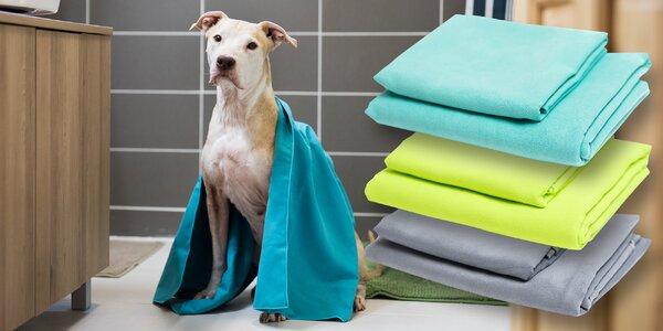 Antibakteriální ručníky pro čtyřnohé miláčky