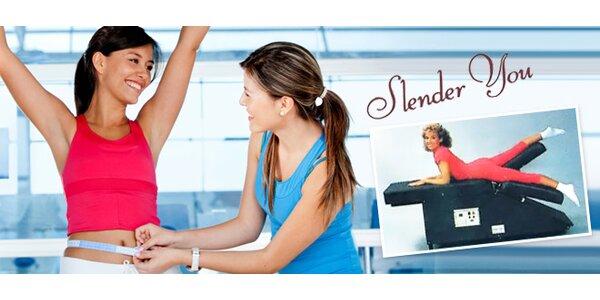 Účinné cvičení na zeštíhlovacích stolech Slender