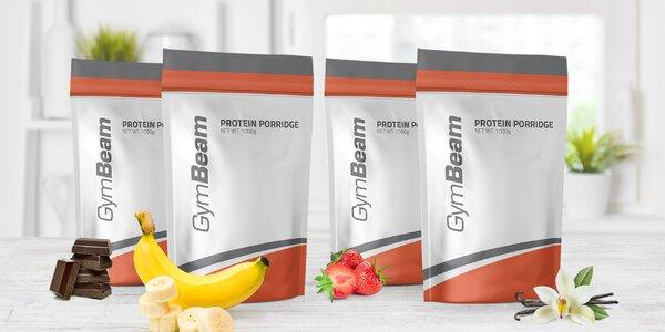 Proteinové kaše GymBeam plné prospěšných živin