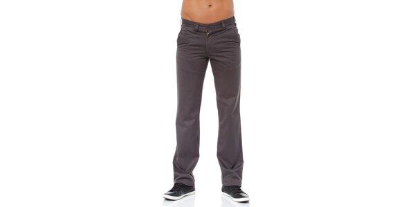 Pánské tmavě šedé kalhoty Bendorff