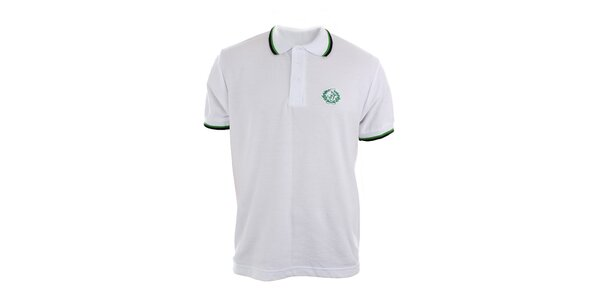 Pánské bílé polo tričko Polo Club