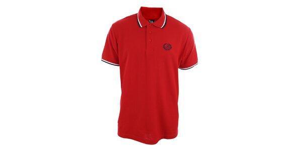 Pánské rudé polo triko Polo Club