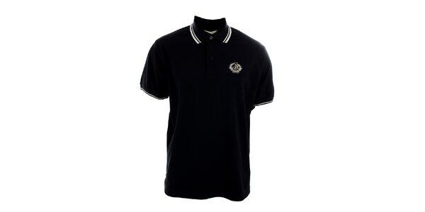 Pánské černé polo tričko Polo Club