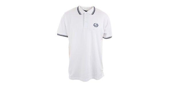 Pánské sněhobílé polo tričko Polo Club